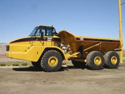 Burns Equipment Group caterpillar-735-dumptruck
