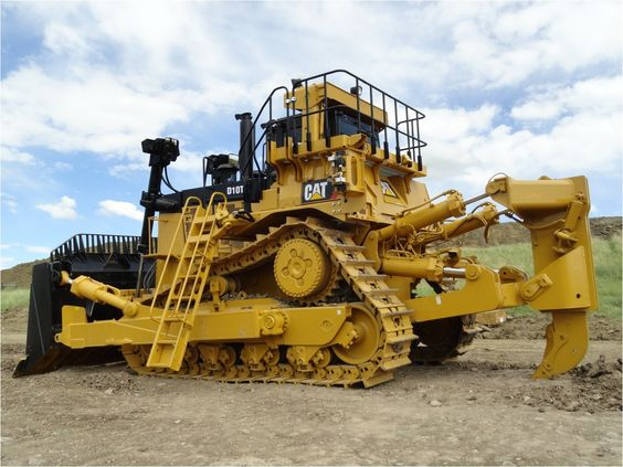 Burns Equipment Group dozer with attachment CAT