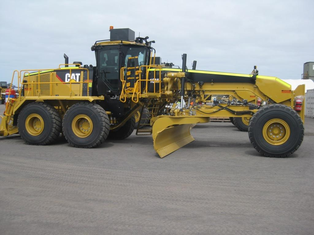 Burns Equipment Group grader-hire