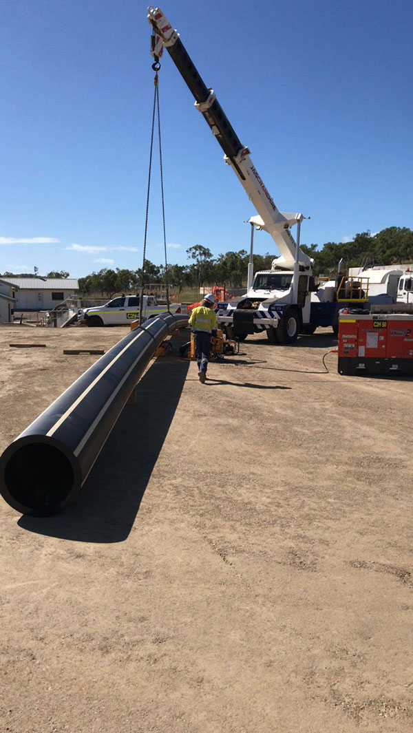 C2H piping services HDPE