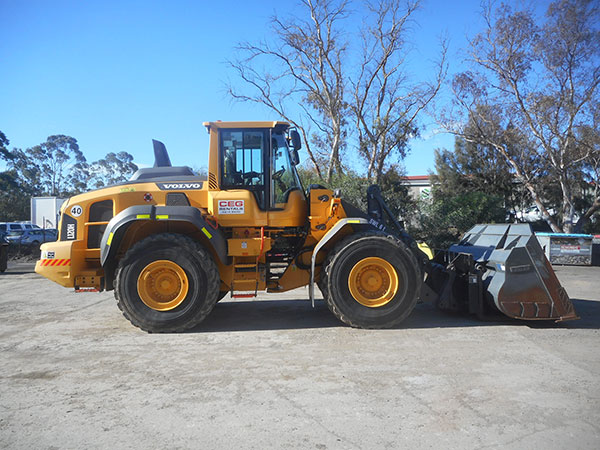 CEG Rentals Volvo Loader Newcastle