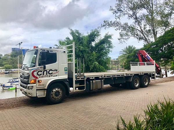 CNC-Cartage-Transport-Solutions-Flat-Bed-Crane-Truck-Hire-Narangba-21