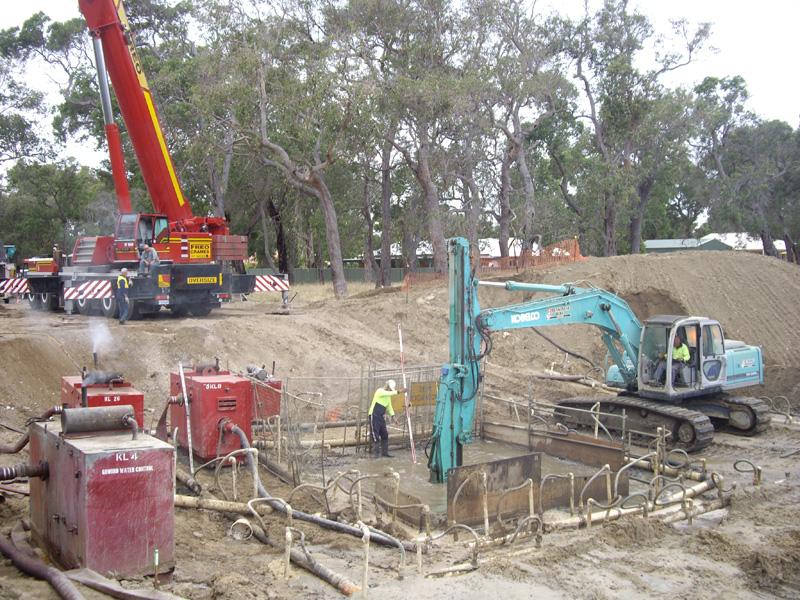 Cassion Shaft Constrution2