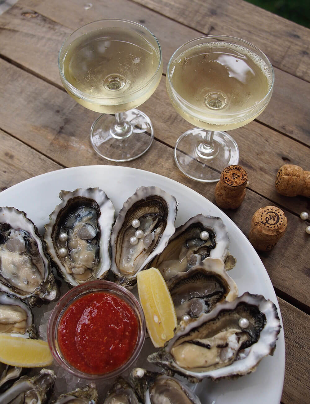 Every Tuesdasy we host a special promo-event. Oyster's night. You can enjoy a special promo-price for 12 oysters - 20$++