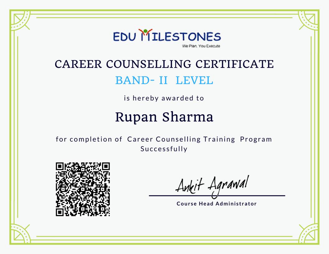 Become Career Counsellor Edumilestones Copy Edumilestones