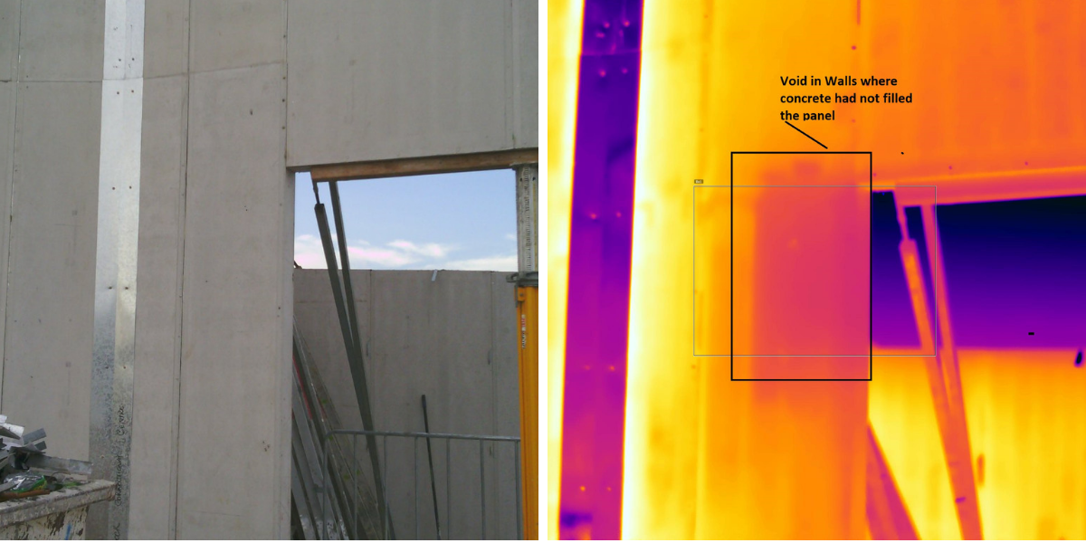 Concrete Void Thermal Imaging