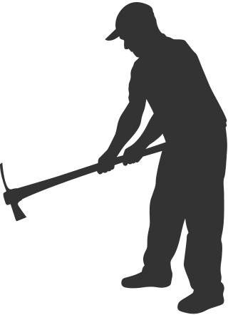 Man Digging Icon 6