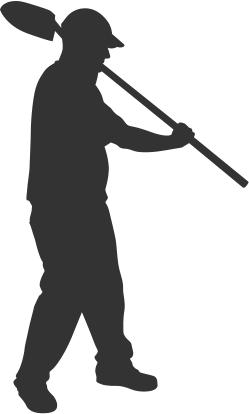 Man Digging Icon 4