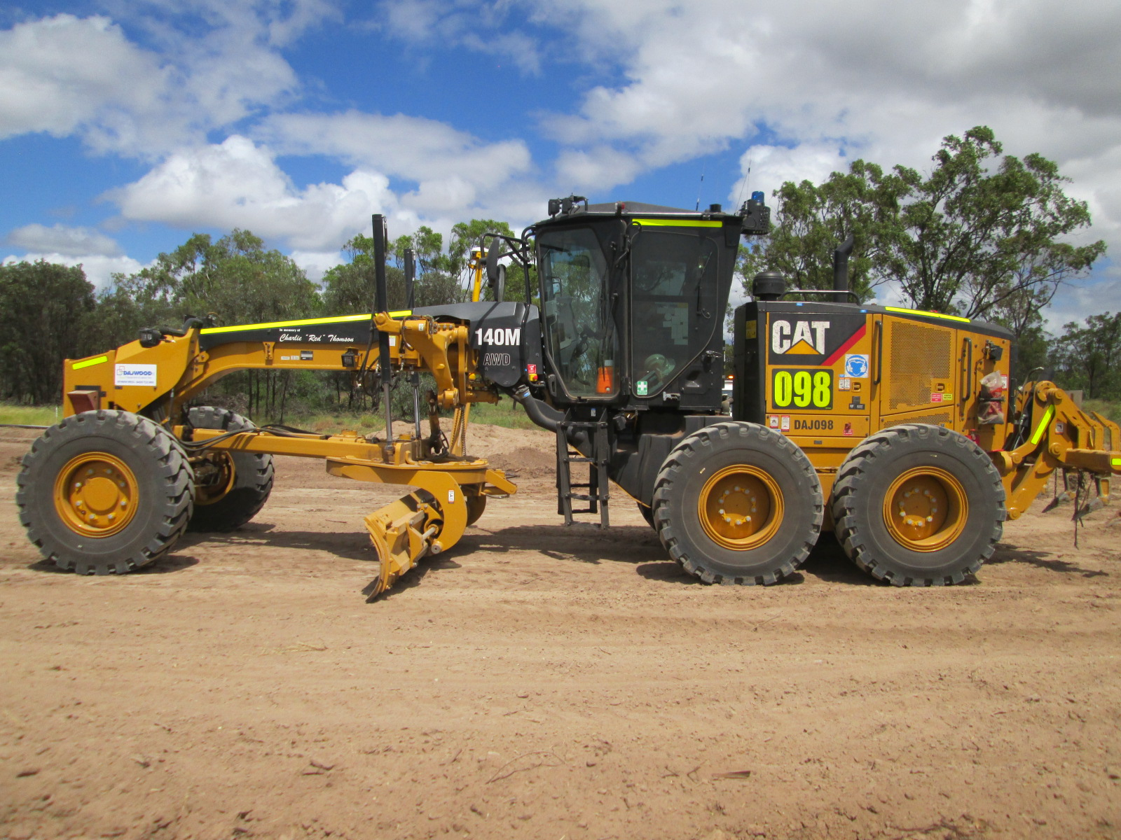CATERPILLAR 140M AWD GRADER FOR HIRE