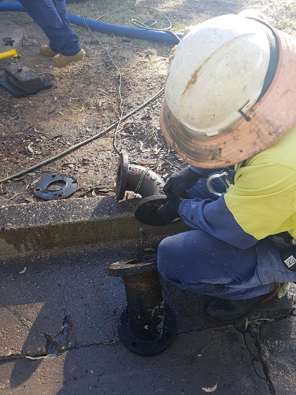 DC Vacuum Pumping Services pipe repair service