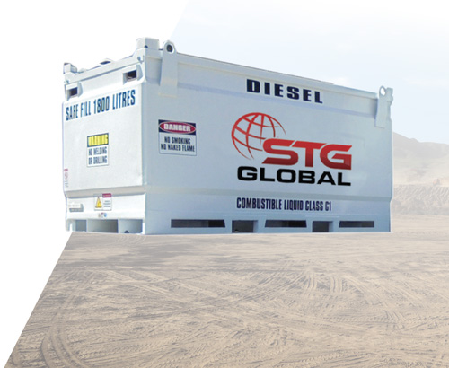 STG Global 1900L Diesel Modules for Sale