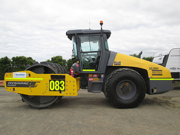 DYNAPAC CA6500D ROLLER FOR HIRE