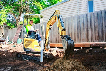 Mini Excavator Hire Available For Tight Access