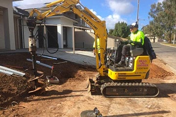 Post And Stump Hole Drilling Services Available From Dial A Digger