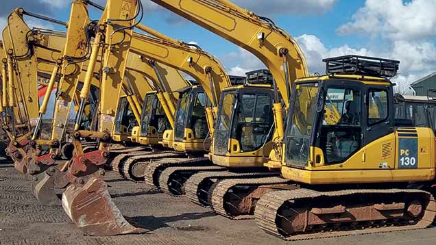 AusQuip Plant Hire Excavator for sales