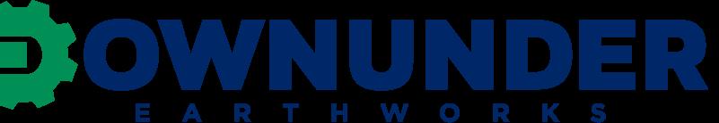 Downunder-Earthworks-Logo-Landscape-Green-D-Blue