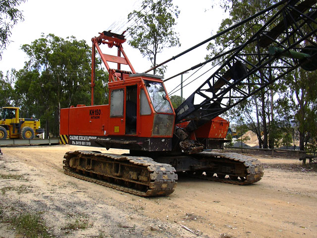 Caldme Excavations - dragline excavator hire
