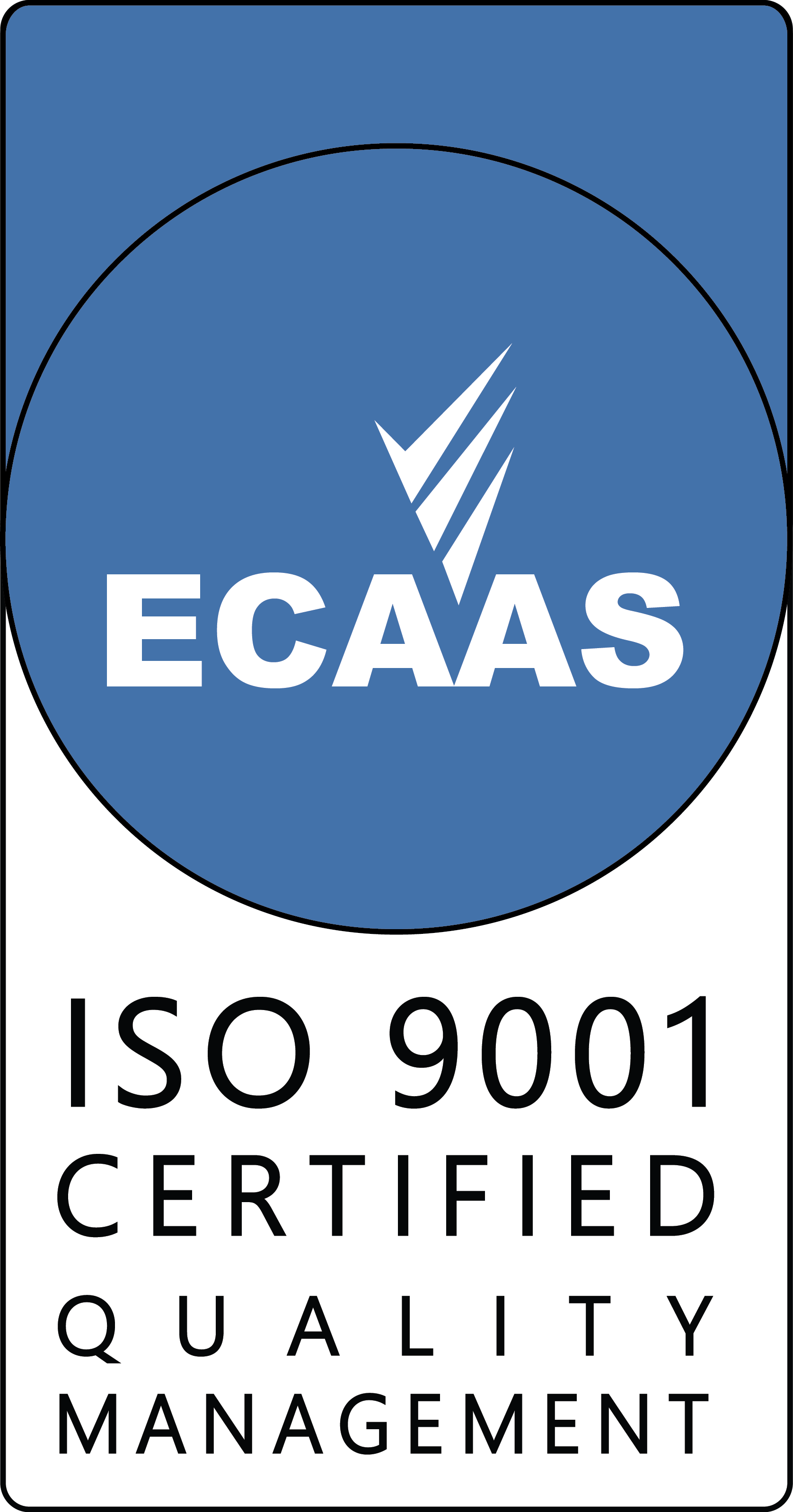 ECAAS Certification Mark - 9001 v1.1 300ppi