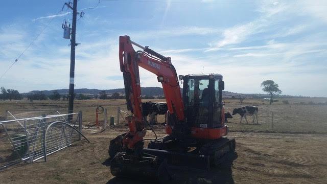 Hume Hire excavator fleet