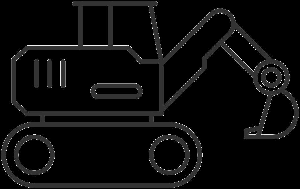Excavator Hire Icon