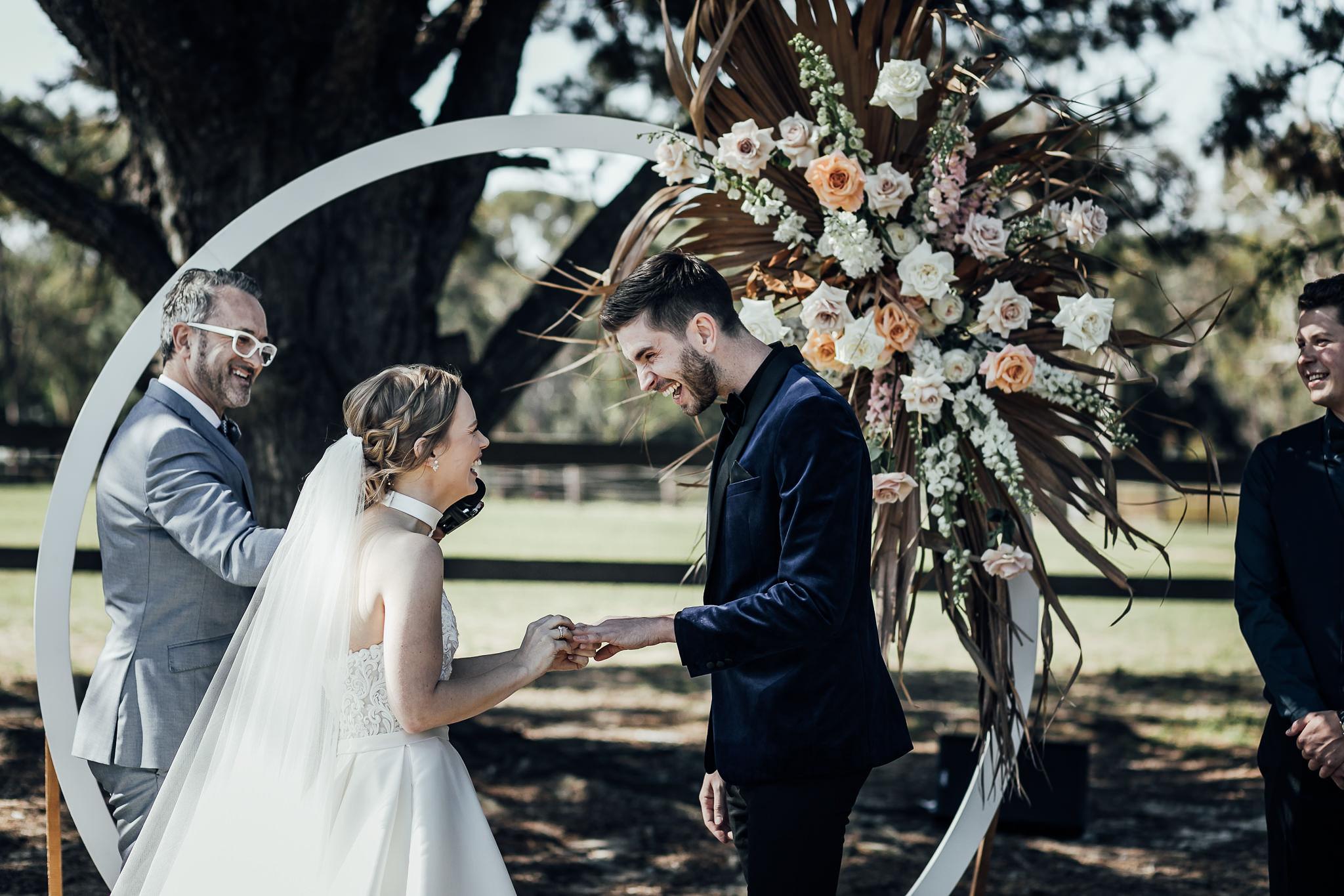 Mornington peninsula wedding celebrant