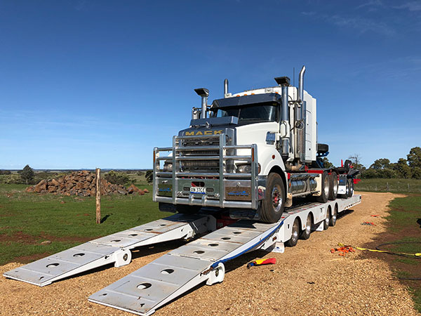 Fletcher-Bros-Solutions-float-rock-truck-transport-heavy-haulage-melbourne
