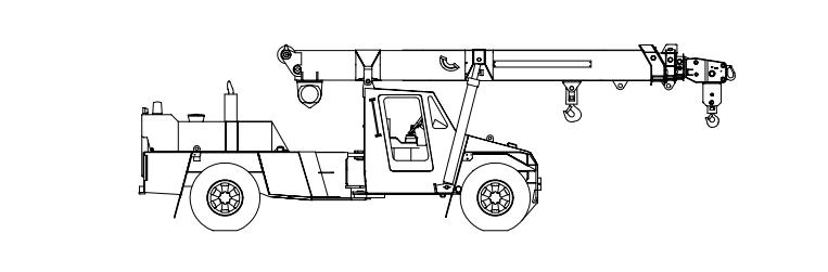 Franna Crane diagram