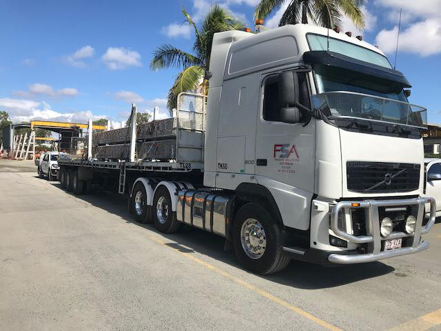 Freight Solutions Australia truck trailer
