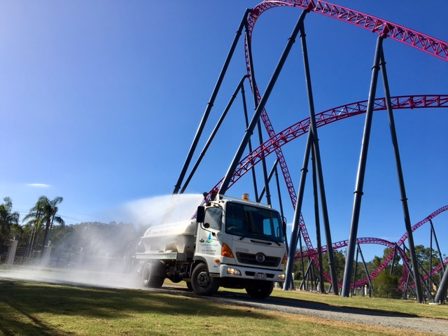 QLD Water Supply Movie World Gold Coast Water Truck Hire