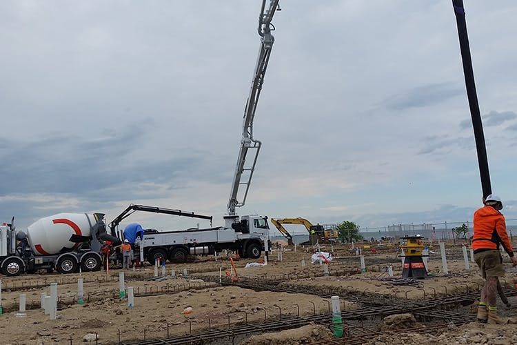 Geelong Concrete Pumping - Concrete Pump Service Hire - Geelong