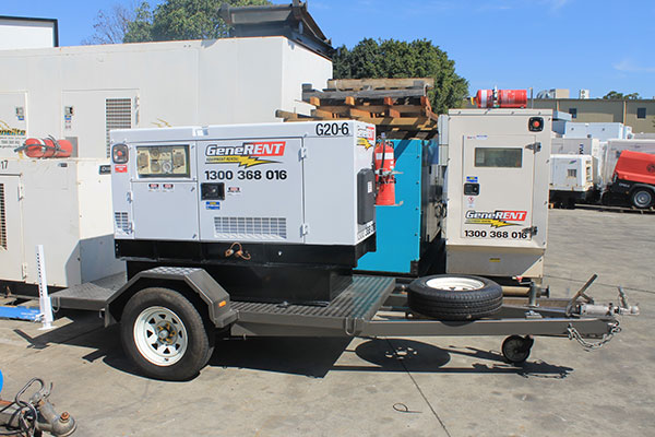Generent-Equipment-Rental-Newly-painted-Generent-set-generator-hire-brisbane-perth