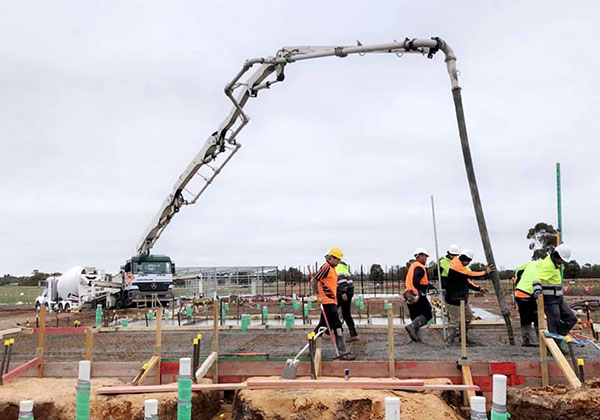 Get-Pumped-Concrete-Pumping-Toolern-Vale-Troy-Debono-Project-concrete-line-pump-boom-pump-hire-melbourne