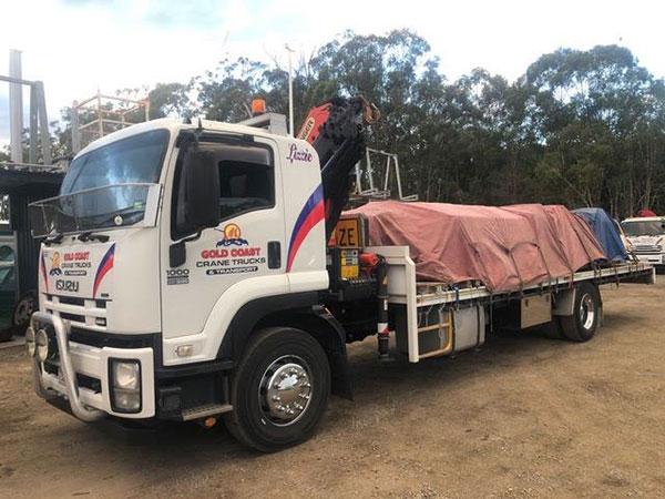 Gold Coast Crane Trucks Jester Crane Nerang
