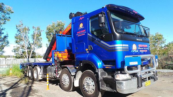Gold Coast Crane Trucks Majec Crane Nerang
