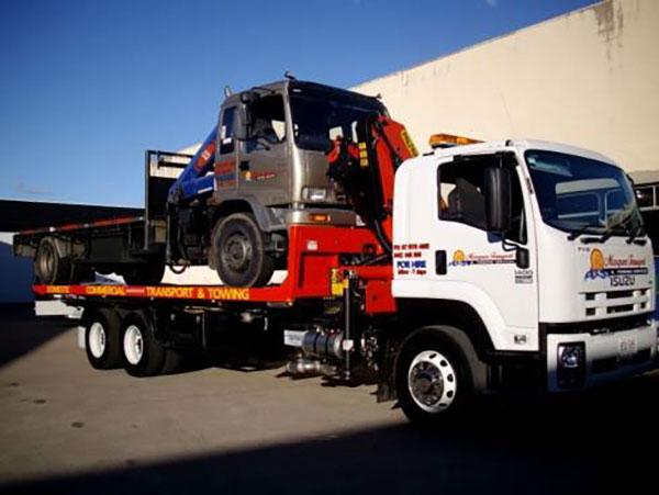 Gold Coast Crane Trucks Scuba Crane Nerang