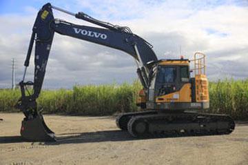 Haber Xcavations excavator hire
