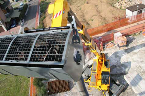 Hi-Range-Crane-Hire-Dieci-Pegasus-4025-equipment-hire-campbelltown