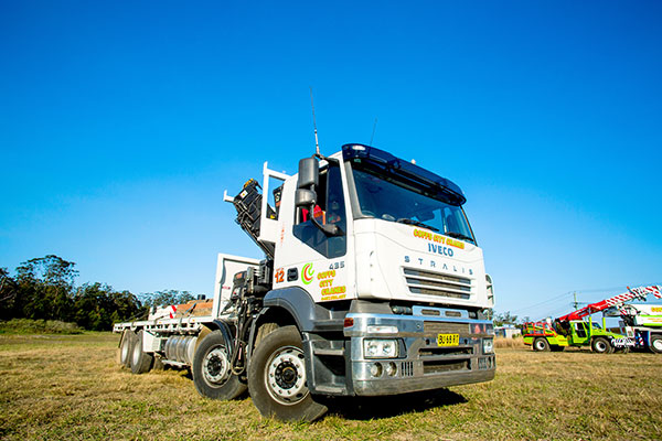 4T Hiab Truck Hire Coffs Harbour