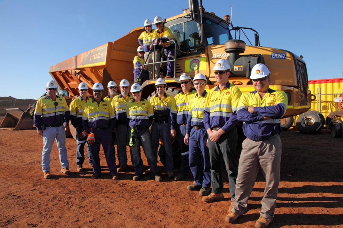 Hicks Civil and Mining team Pilbara