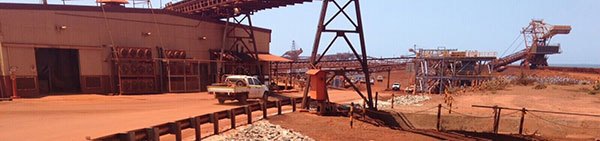 Hicks Civil and Mining worksite Pilbara