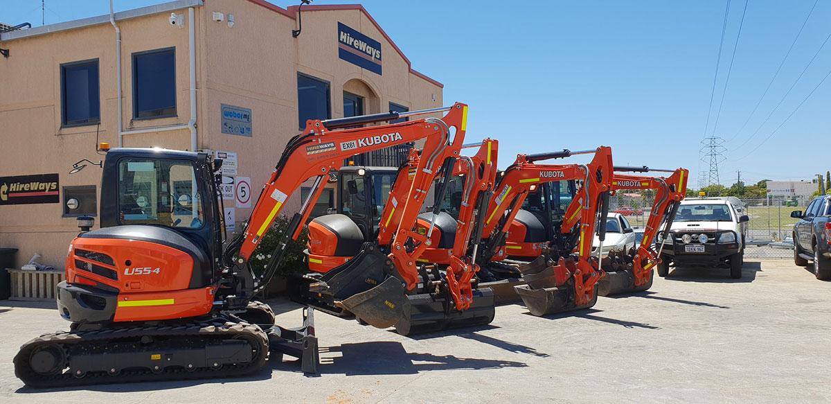 Hireways-Fleet-hire-excavator-Perth