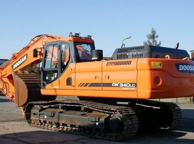 Hogg Brothers Doosan Excavator DX340