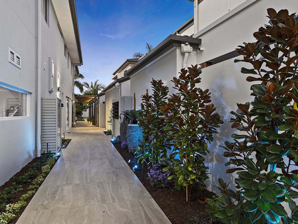 High end landscaping gold coast and brisbane