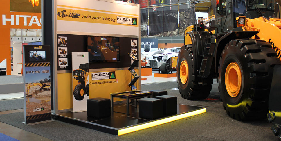 Hyundai Construction International Mining Expo