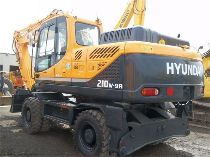 Hyundai r210w Excavator hire