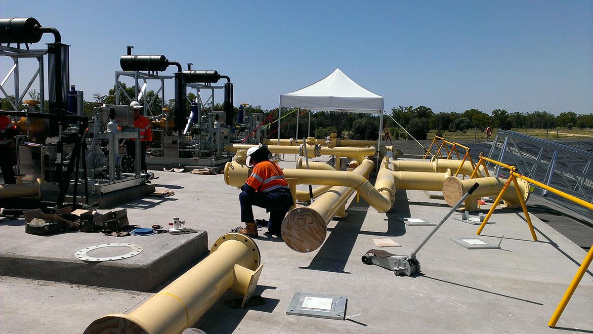 RSA Queensland Pipeline Construction