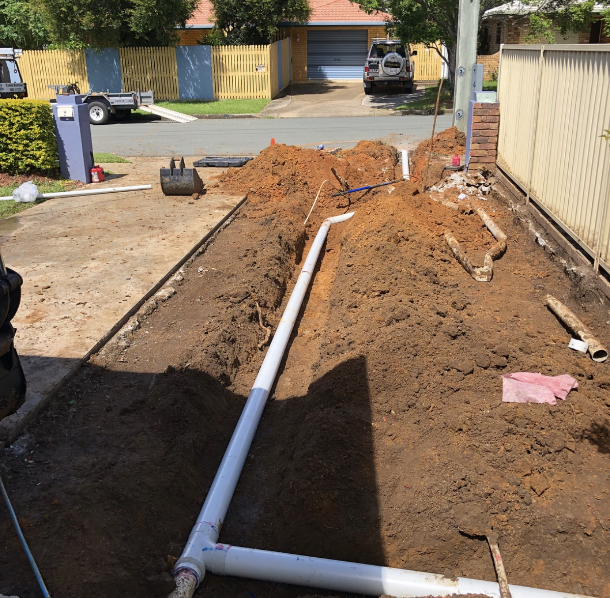 Stormwater drain replacement