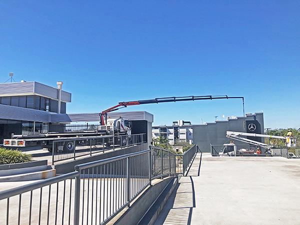 Gold Coast Crane Trucks Lizzie Crane Nerang