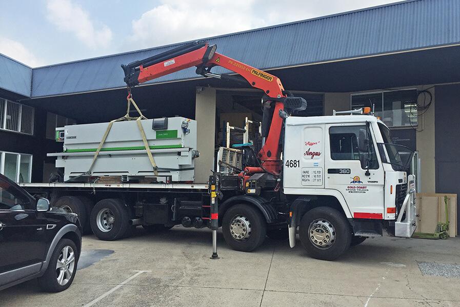 Gold Coast Crane Trucks Angus Crane Nerang