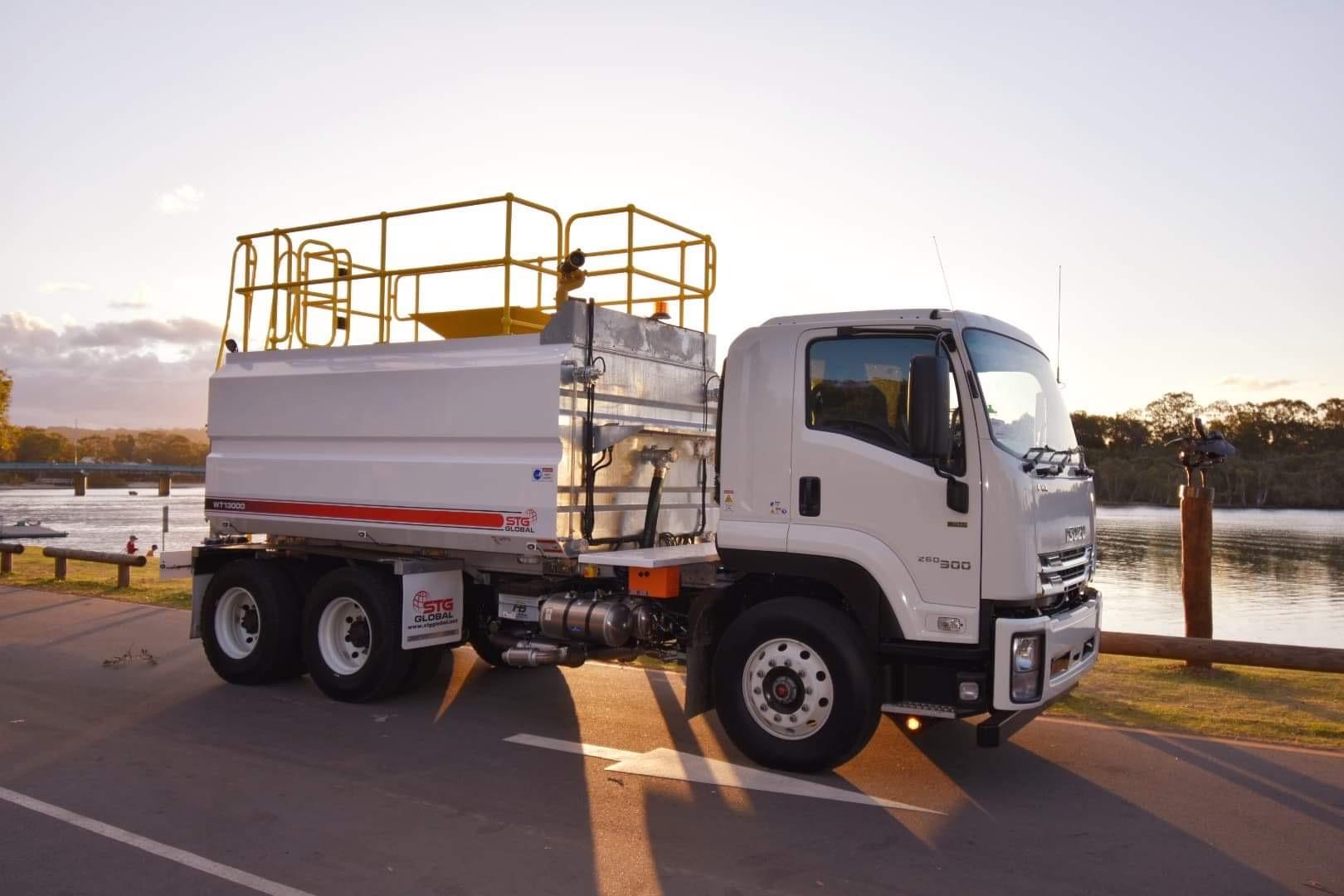 2019 Isuzu FVZ260-300 Auto 6x4 13,000Lt Water Truck for sale